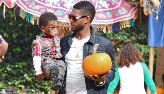 Happy Birthday Usher! Check Out His Adorable Family Photos Through The Years