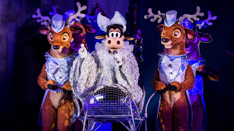 Novo show é anunciado para festa de Natal do Magic Kingdom