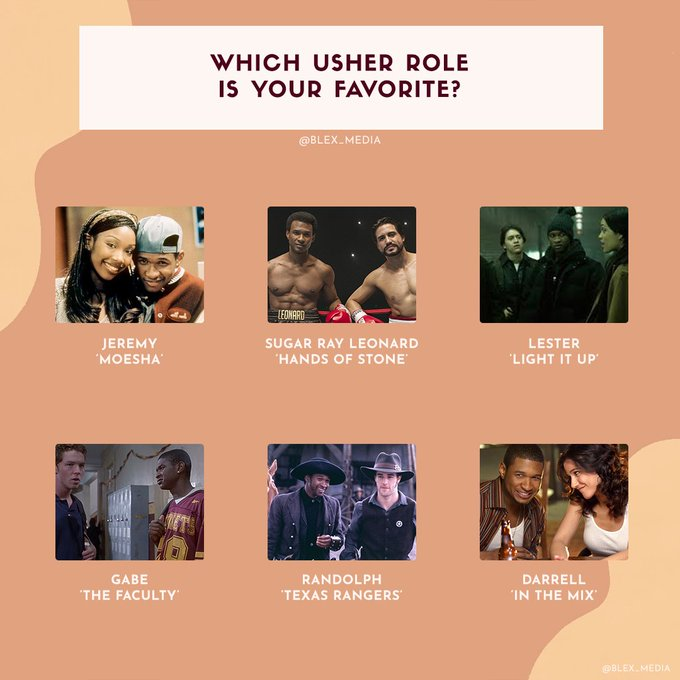 Happy Birthday Out of these six roles, what\s your favorite role of his?