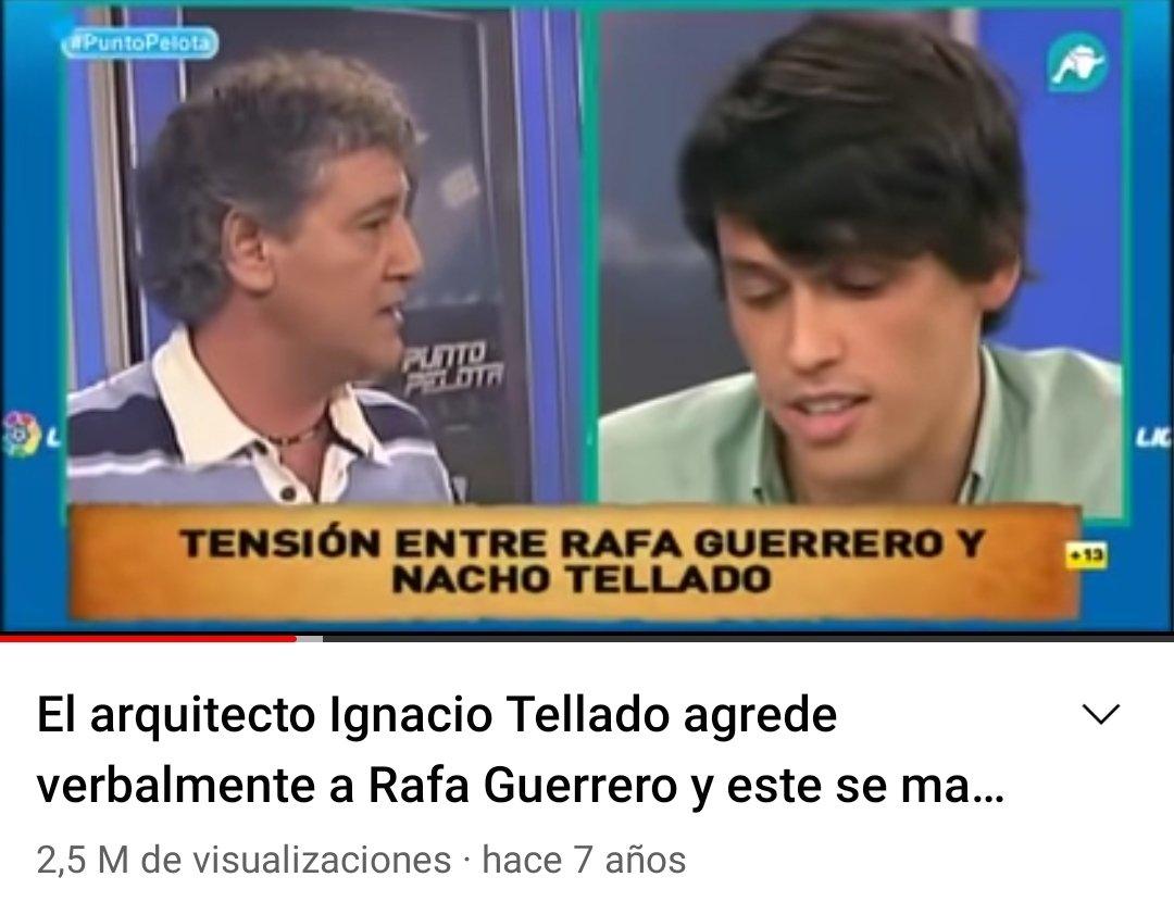 Nacho Tellado Twitter