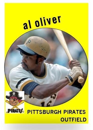 Happy 75th birthday to Al Oliver.  Happy birthday, Scoop!