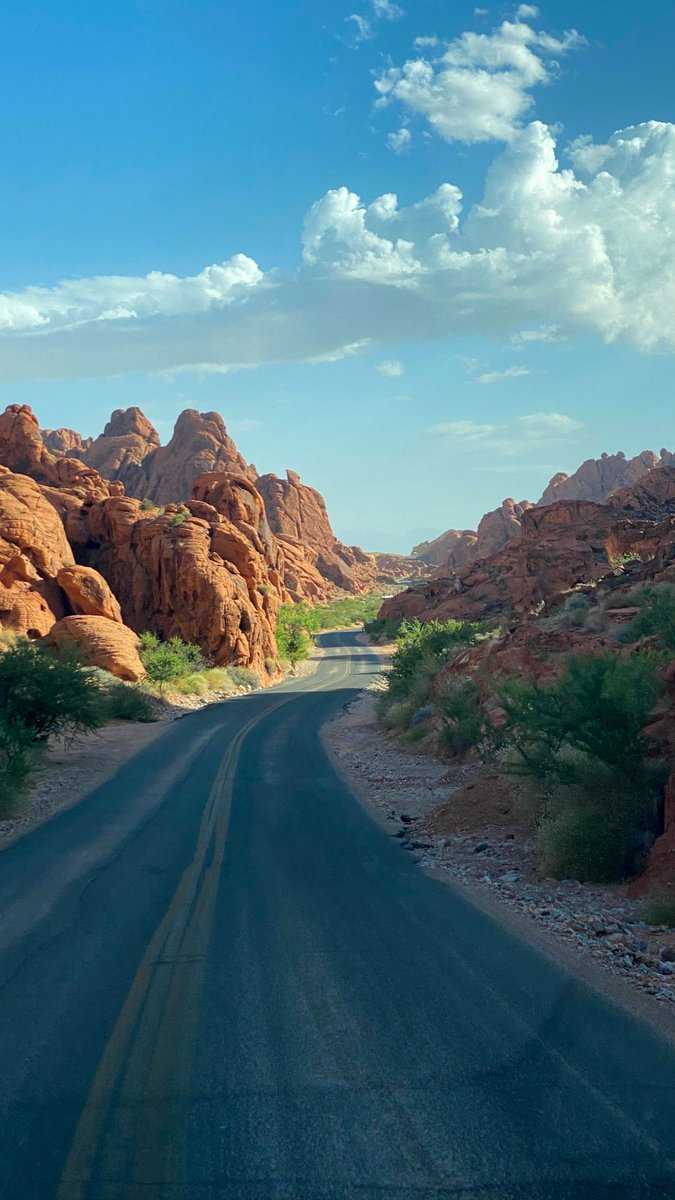 I see why it's called The Valley of Fire… I really wish I had my skateboard #traveloften #Travelers #TravelFail https://t.co/e8W2oDsk0F