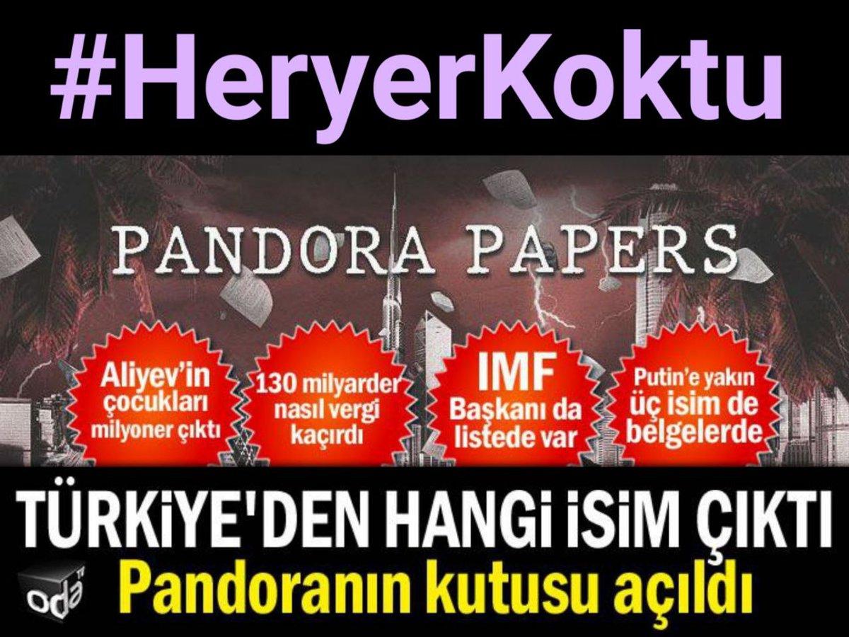 Pandora Papers'a göre Türkiye'de aldığı kredileri ödemeyen Demirören Ailesi vergi cenneti üzerinden Londra'da gayrimenkuller satın alıyor ⁉️ Ziraat Bankası'ndan 2 yıl geri ödemesiz, 10 yıl vadeyle taksitlendirilen 675 milyon dolar krediyi ise geri ödemedi  #HeryerKoktu