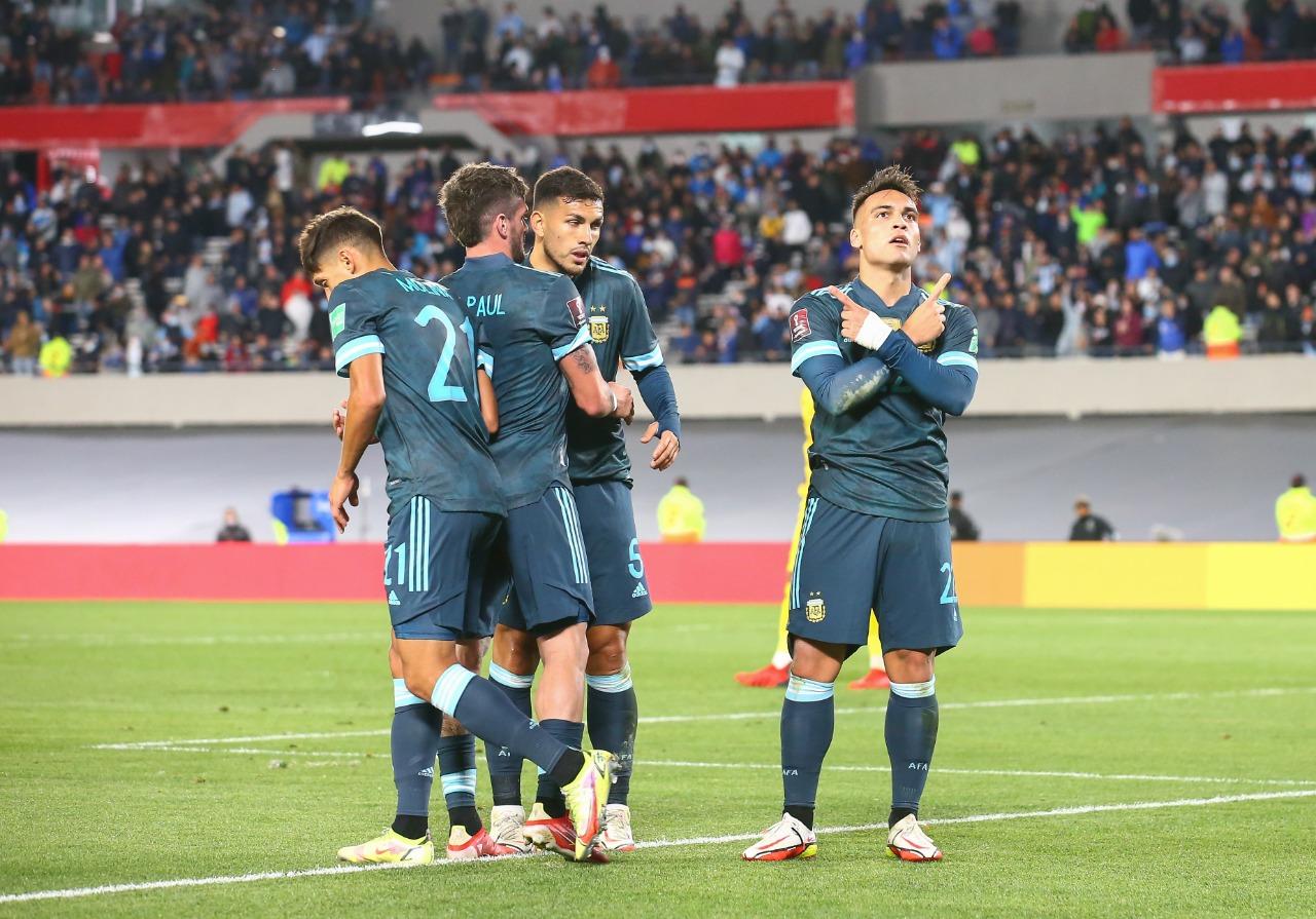 Argentina vs Perú 1-0 Jornada 12 Eliminatorias CONMEBOL 2022