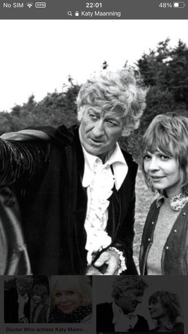 Happy birthday to the actress who played the Doctor s best companion Jo Grant Katy Manning