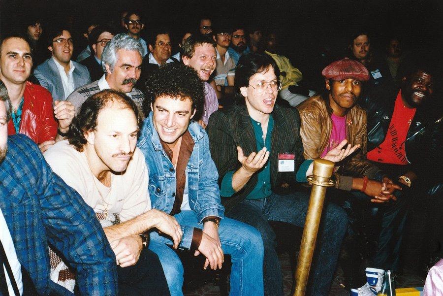 Billy Cobham Photo 1987  NAMM & Jeff Porcaro FBsHunMXIAE657L?format=jpg&name=900x900