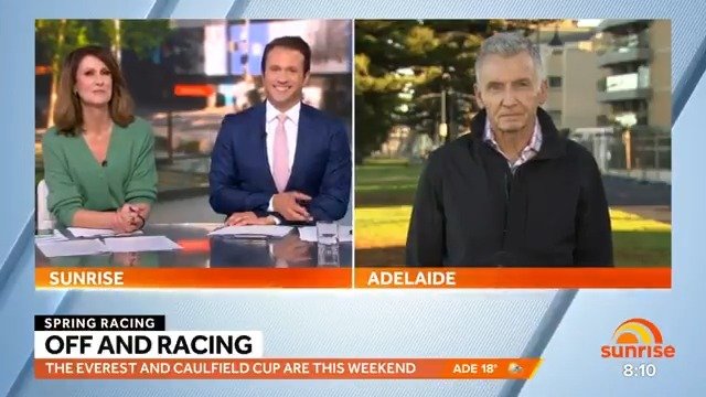 There's a big weekend of Spring racing coming up! @7HorseRacing host Bruce McAvaney joined us with all the action to watch out for at #TheTABEverest and #CaulfieldCup 🏇 https://t.co/560x3ko6WN.