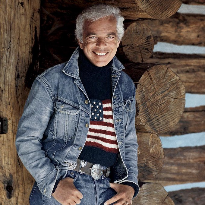 Happy Birthday to the greatest clothing designer of all time, Ralph Lauren.