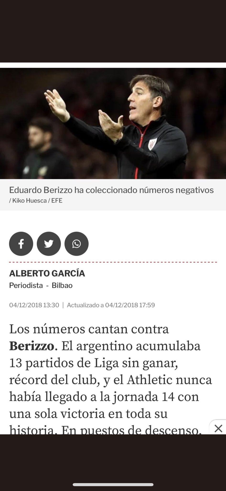 Berizzo Twitter
