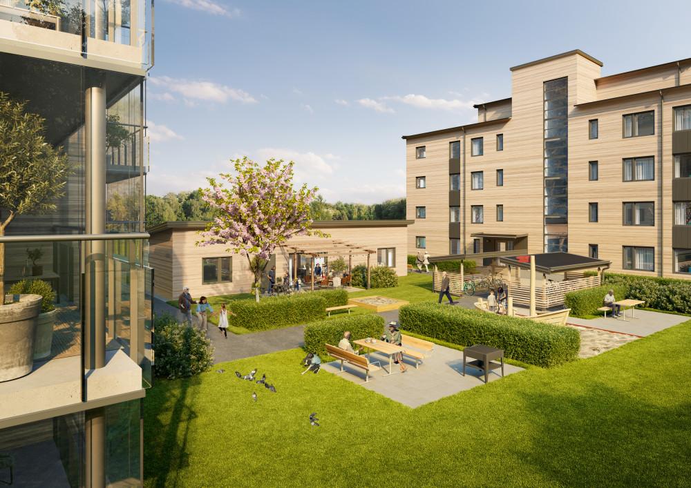 Den 18 oktober är det officiell säljstart för Riksbyggens kommande bostäder i Holmsund, strax utanför Umeå. Brf Lövöbacken kommer att bestå av 24 lägenheter som byggs med högt ställda hållbarhetskrav enligt Miljöbyggnad Silver.  https://t.co/H2qyUxbGKI https://t.co/F8Lm9zqCjX