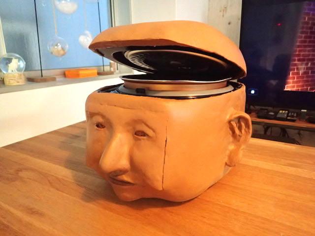 炊飯器を顔型にしたら、妻に怒られました  #DPZ