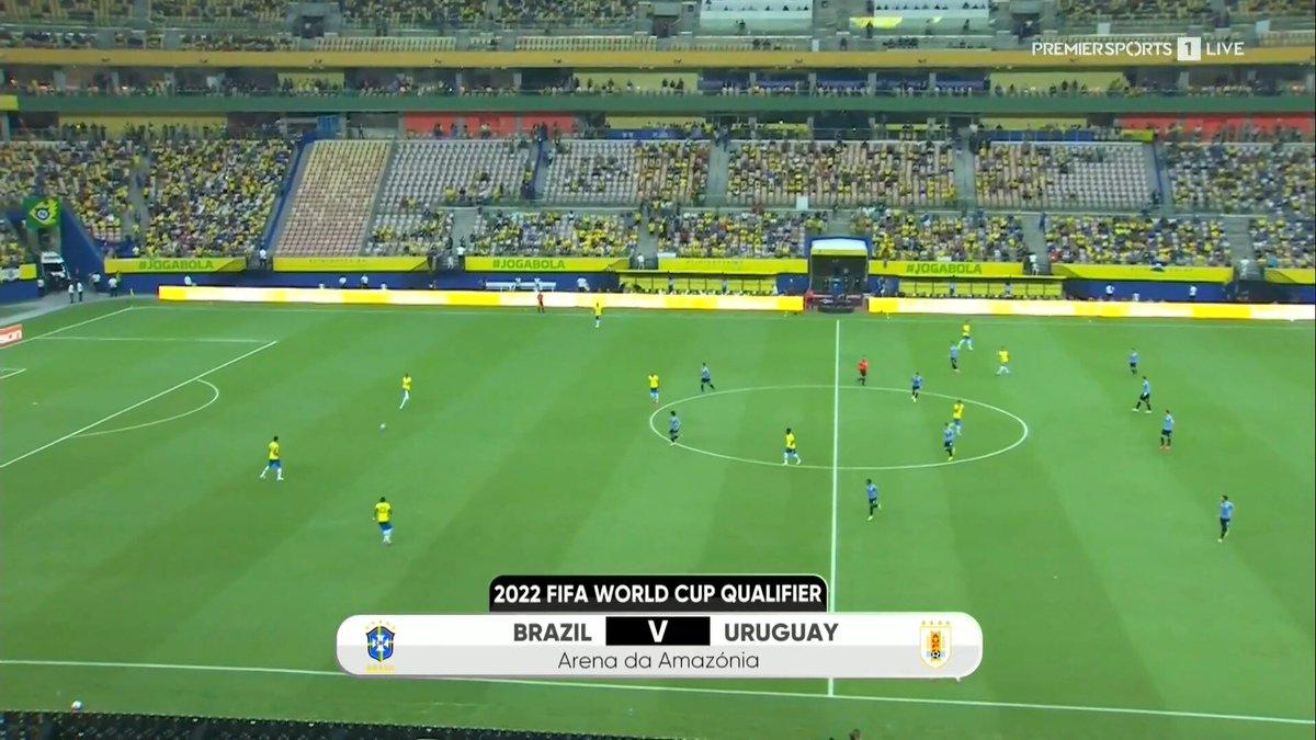 Full match: Brazil vs Uruguay
