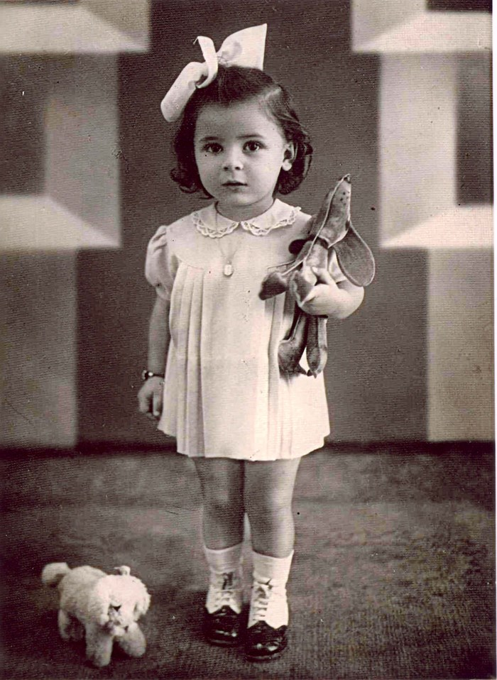 16 October 1938 | A Hungarian Jewish girl, Klara Boda, was born. In July 1944 she was deported to #Auschwitz and murdered in a gas chamber.