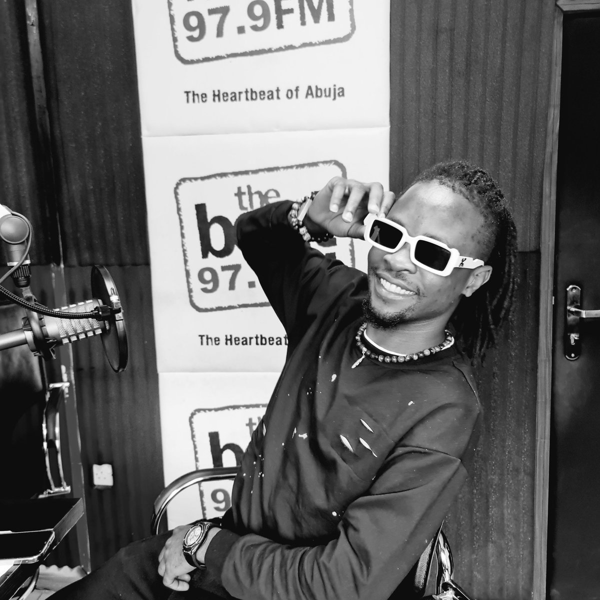 Abuja! I'm live on @TheBeat97ABJ.. Let's catch this cruise 🐺