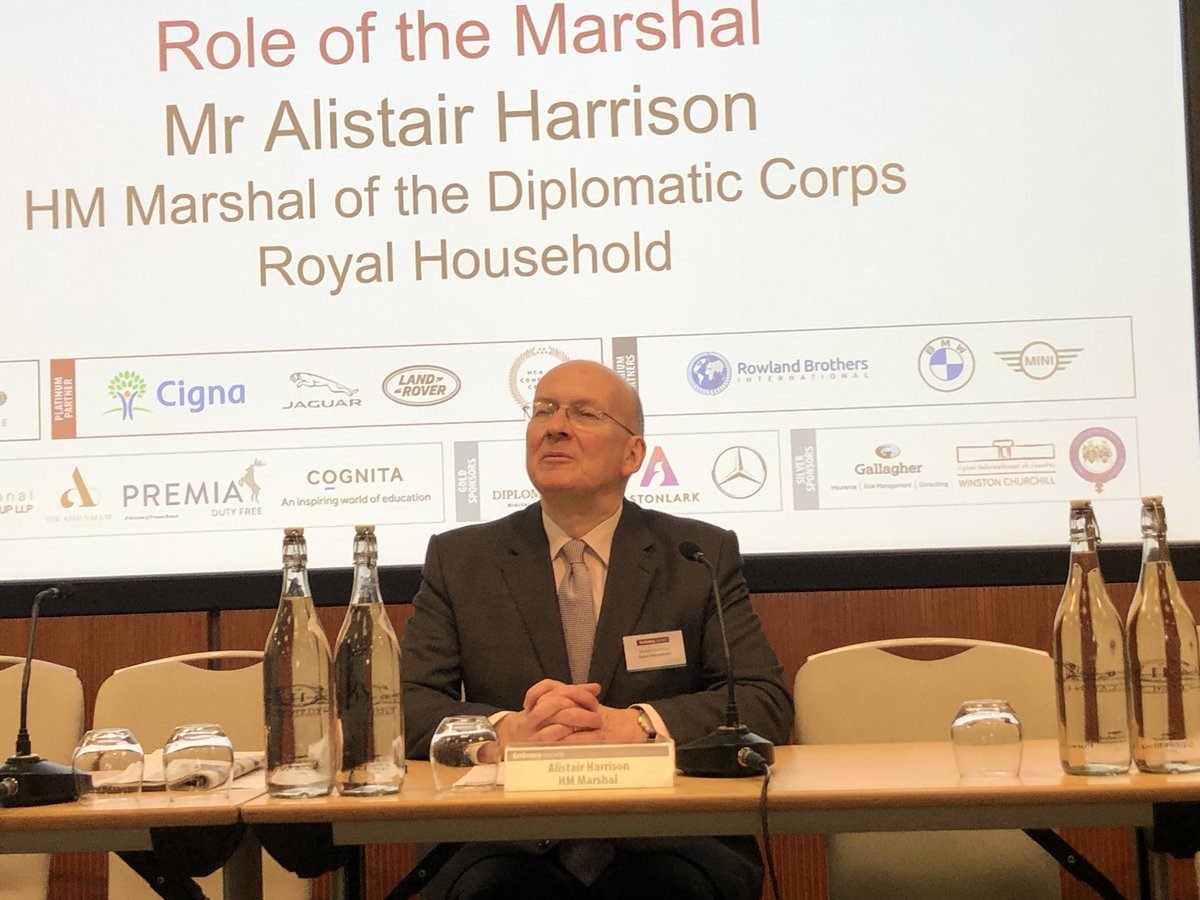 test Twitter Media - Real pleasure welcoming back Alistair Harrison to talk about his role as the Marshal of the Diplomatic Corps. #AlistairHarrison #EmbassyInduction2021 https://t.co/S0jcSBA4re