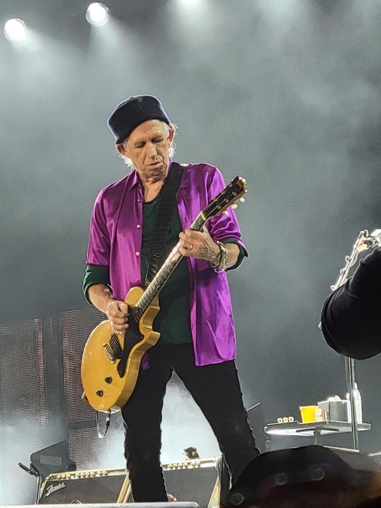 Keith!!! @RollingStones