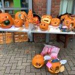 Wonderful pumpkin display at the Girls' Prep. Superb effort from the pupils! @SurbitonHigh