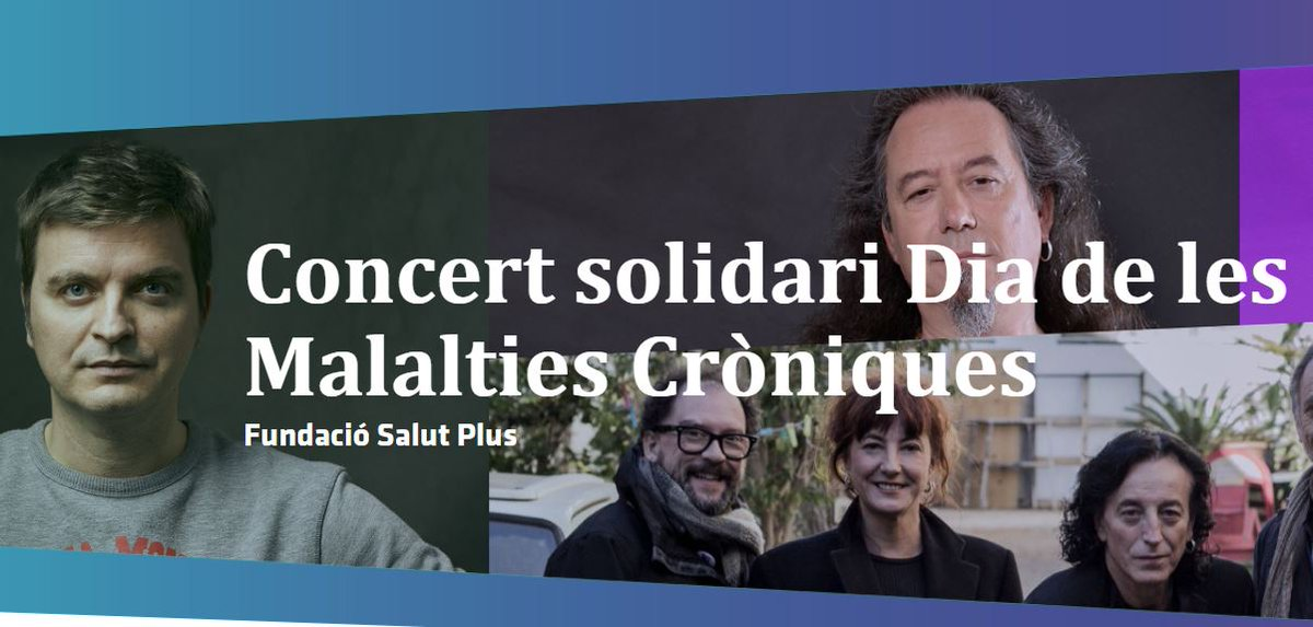 ✅El 26-O us convidem al concert solidari organitzat per @FSalutPlus, amb el suport de l'Ajuntament #SantCugat, per visibilitzar les malalties cròniques  @ElectricaDharma @Marc_Giro @bertagarrido99   🗓️26 OCT  📍@TeatreAuditori   🎟️https://t.co/h0DrgFItLI  @GemmaAristoy
