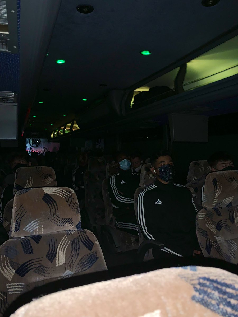 4:35am On the bus and heading to the airport. Our trip to 🇨🇴 is officially underway. Split @PhilaUnionII & @phlunionacademy Development Squad roster is heading to Cartagena, Colombia for an '03 event:Torneo las Americas Elite.