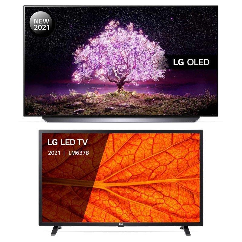 LG 55C14LB (2021) + 32LM637BPLA (2021)