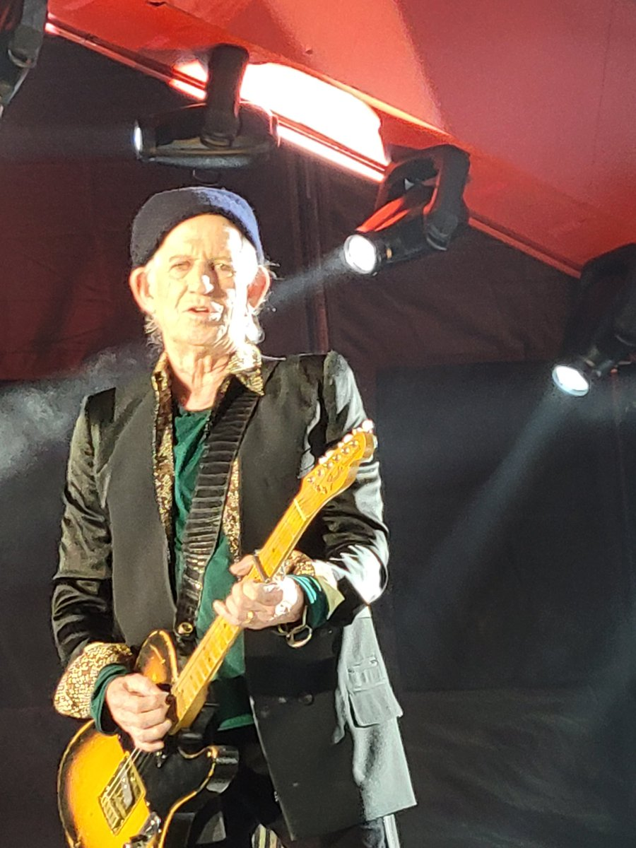 Keith from last night. @RollingStones