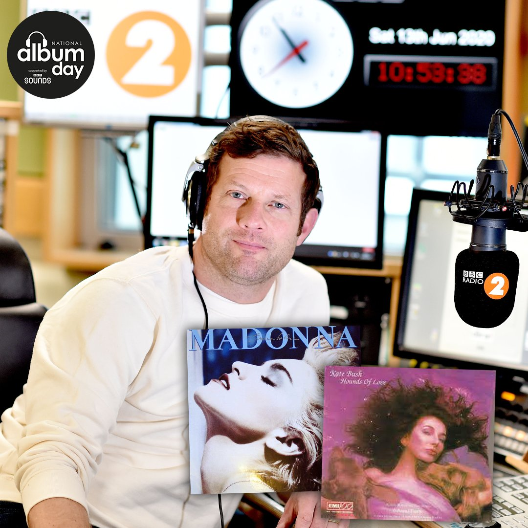 .@radioleary's favourite albums to ever be a released by a woman include @madonna's True Blue & @katebushmusic's Hounds of Love 🎶 What would be your top 2 picks? 💽 #NationalAlbumDay @albumdayuk