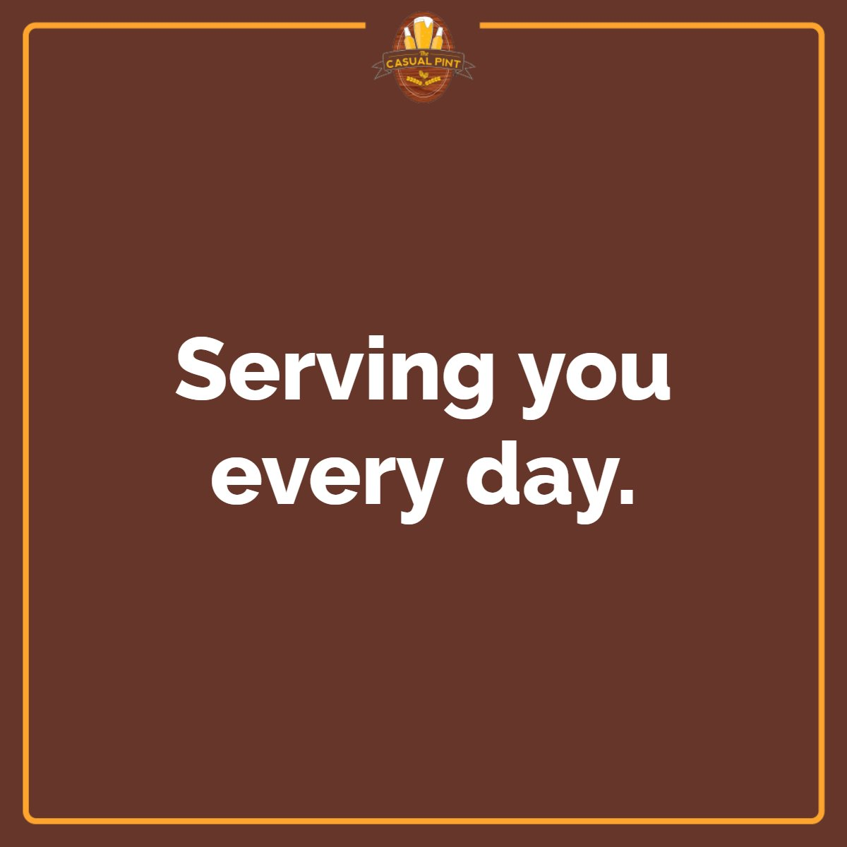 Hunger doesn't take the weekend off, and neither do we! Visit us Monday through Thursday from noon to 10 PM, Friday and Saturday from 11 AM to midnight, and Sunday from 11 AM to 10 PM. #TheCasualPintVaBeach #MilitaryDiscount #ServiceIndustryDiscount #WhereBeerLoversMeet