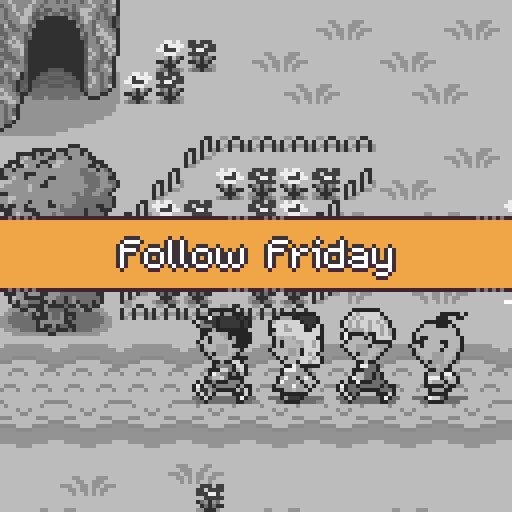It's #FollowFriday! Why should people #follow you?  💬REPLY with your #indiegame, maybe some #pixelart, or a clip from your #YouTube or #Twitch. Show us whatever it is that makes you special!  #indiedev #gamedev #indiegame #smallstreamer #smallyoutuber #indie #VGM #gameaudio