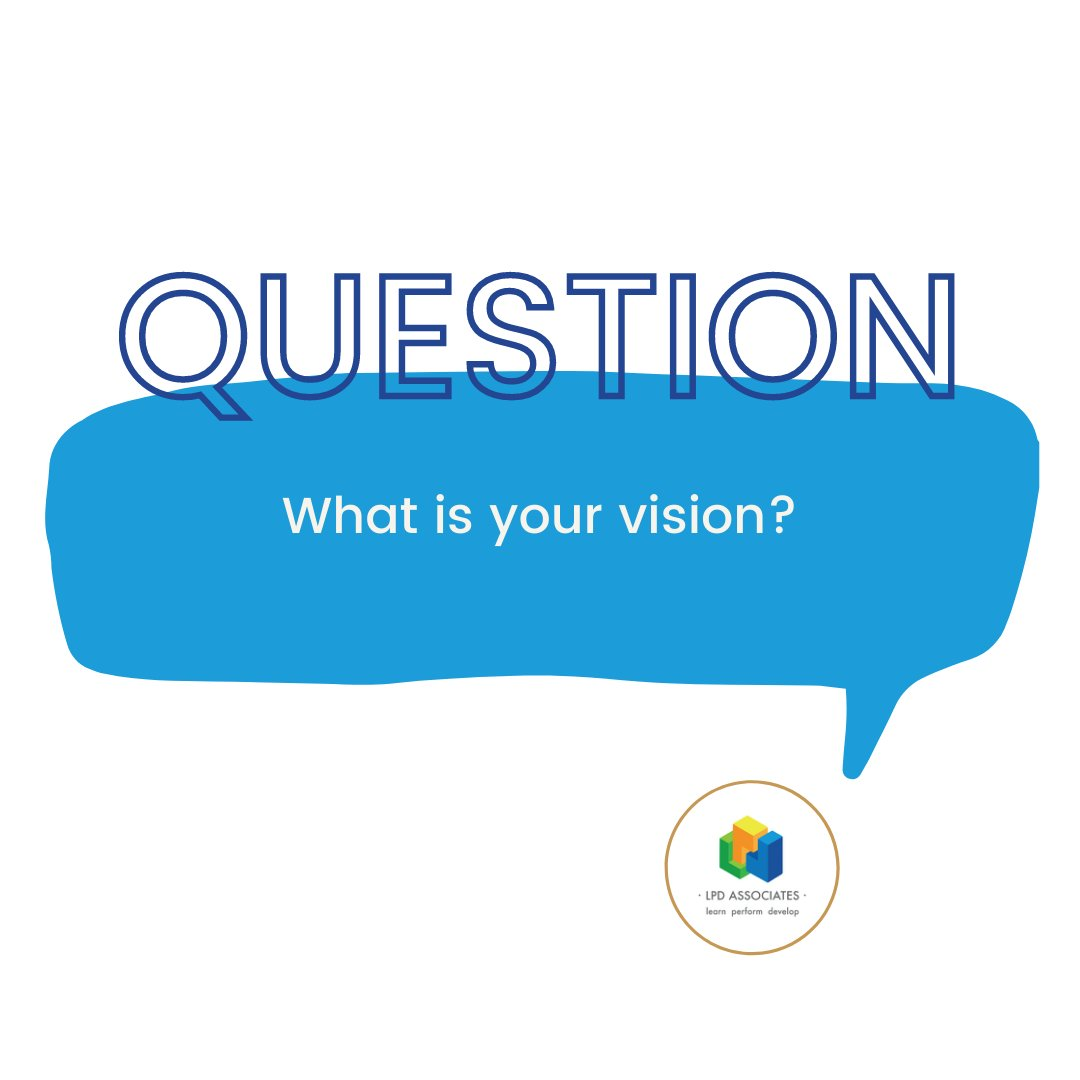 When it comes to our futures most of us have a vision of what we are working towards. The question is how clear is that vision?