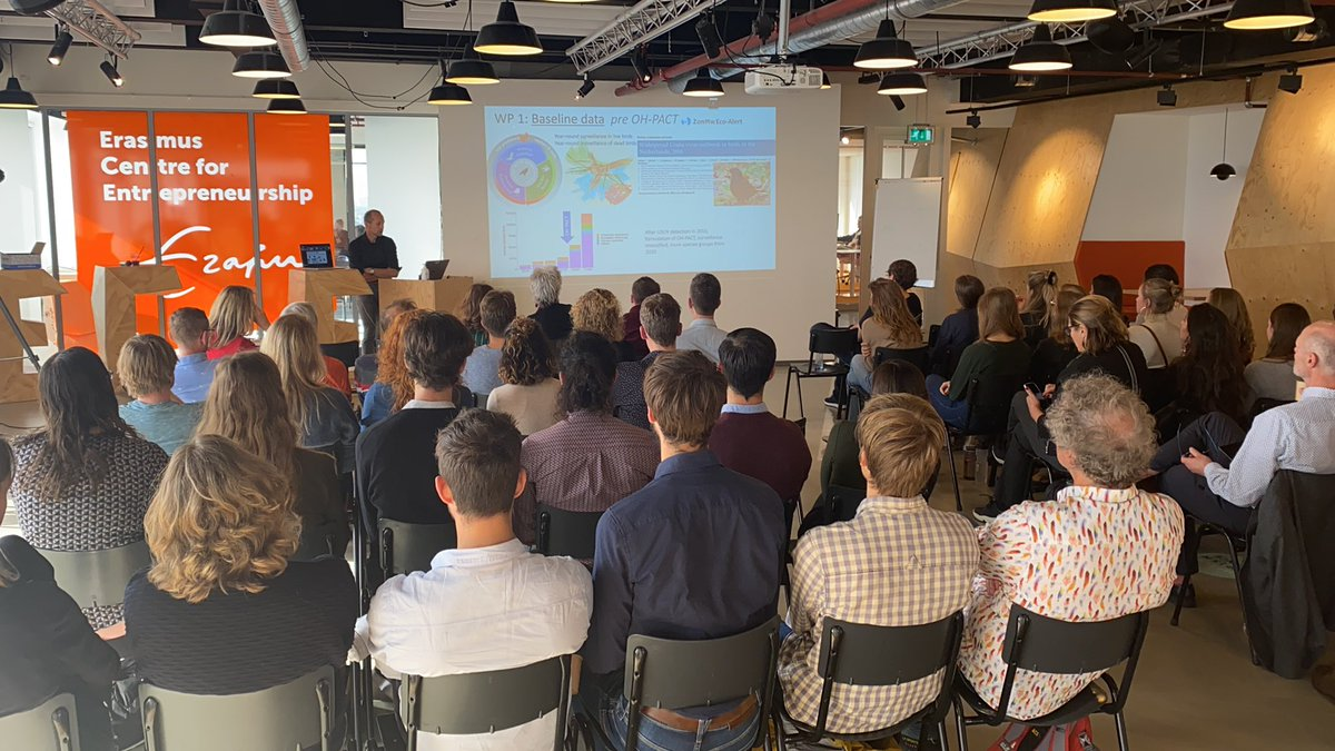 Our first live scientific consortium meeting last Friday! @MarionKoopmans #OneHealth