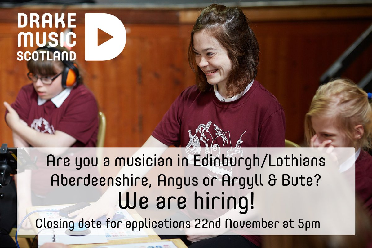 test Twitter Media - Applications now open! Are you a freelance musician? Want to join our team? We're recruiting in #Edinburgh #Lothians #Aberdeenshire #Angus #ArgyllAndBute Funded by @CreativeScots #YMI #Strengthening https://t.co/txTofzMGIK