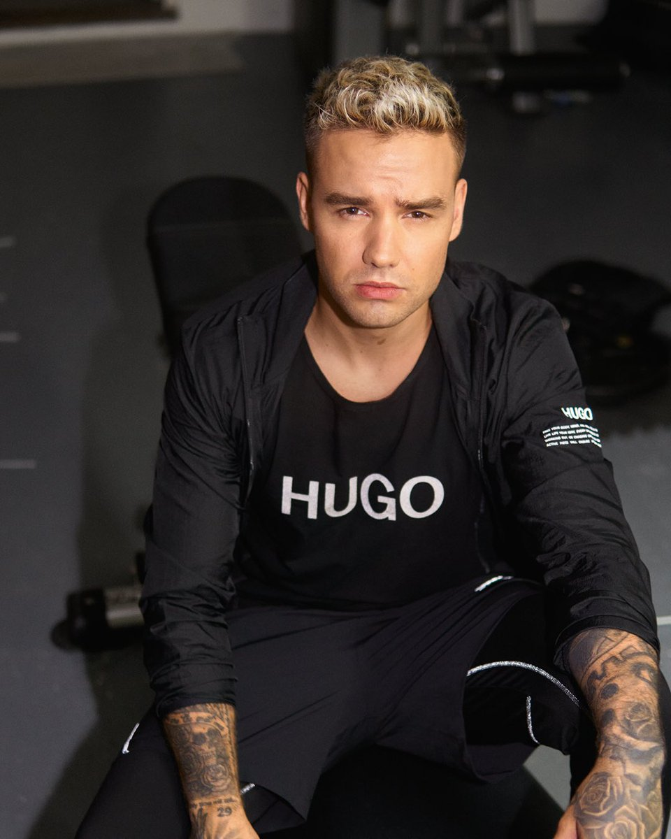 Loving the new #HUGO work out gear. HUGO Active is out now #iamHugo https://t.co/RhulhB12mO