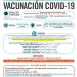 Image for the Tweet beginning: Nuevas repescas para las vacunaciones