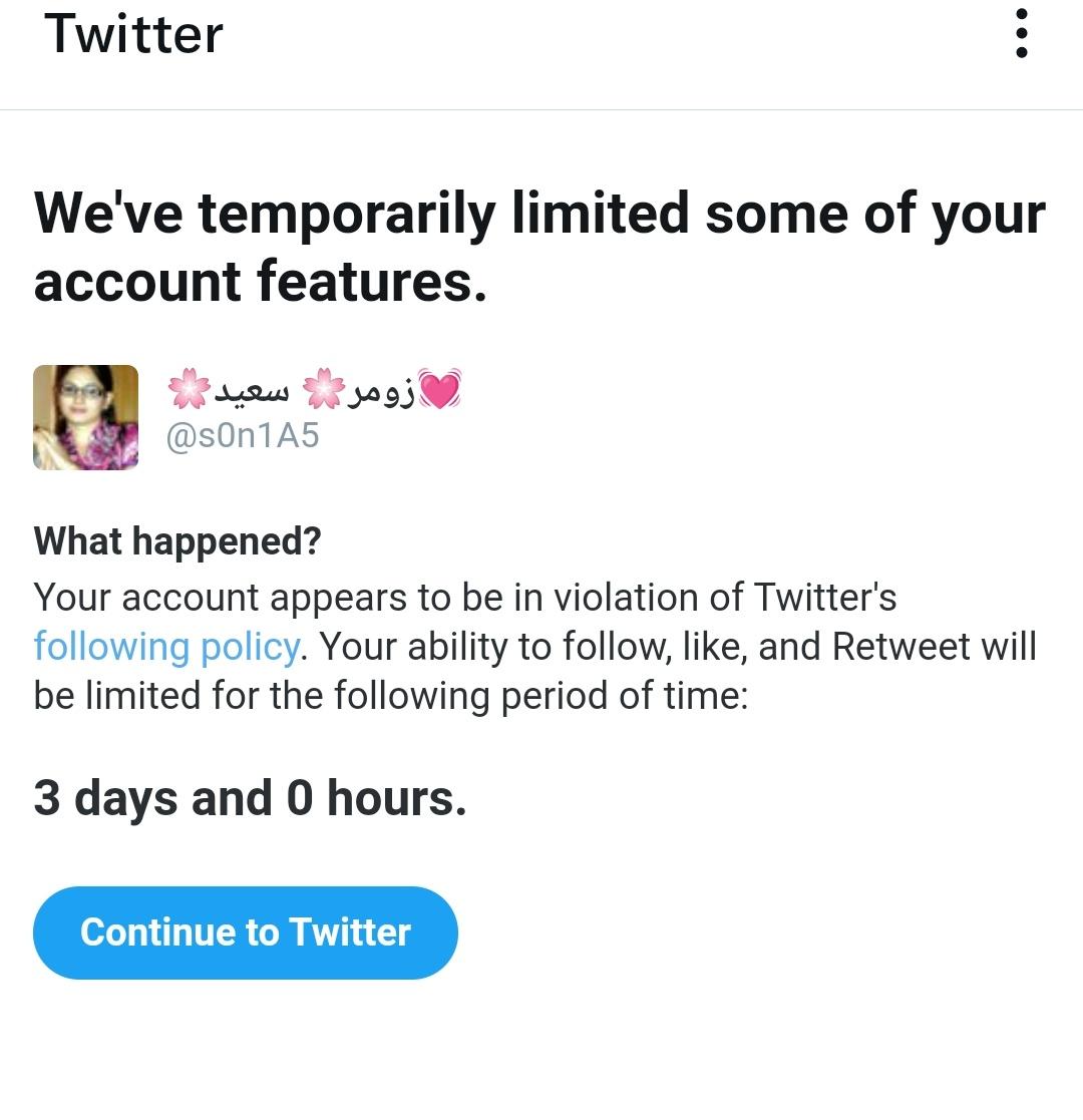 I am sorry followers