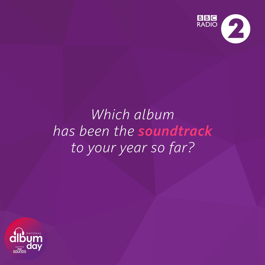 Which album's been played the most in your house / car / ears so far this year then? ✨ #NationalAlbumDay @AlbumDayUK