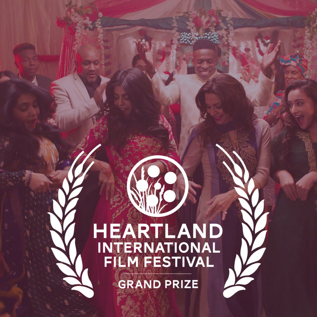 """Congratulations @imanzawahry for the latest in a series of awards for her film @AmericanishFilm! The film won the @heartlandfilm Narrative Feature Grand Prize. We are looking forward to saying """"Coming to a theater near you!"""""""