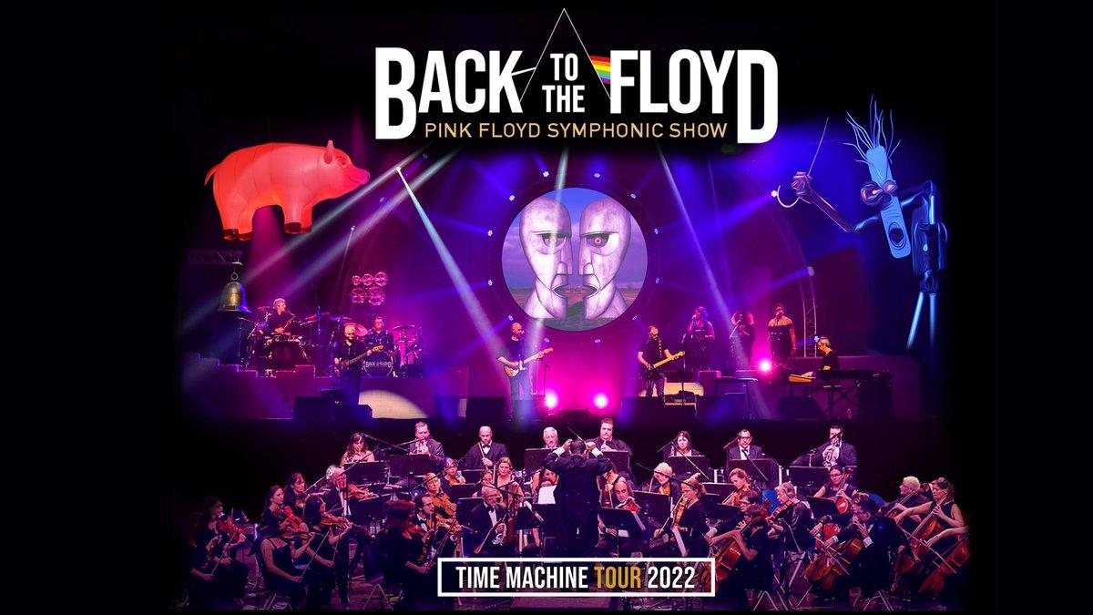 """➖BACK TO THE FLOYD ➖  Venez voyager au cœur de l'univers des créateurs de """"The Dark Side of the Moon"""" pour une expérience musicale, visuelle et spirituelle doublée d'une saveur symphonique. Rendez-vou"""