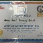 Image for the Tweet beginning: Guinness world record holders