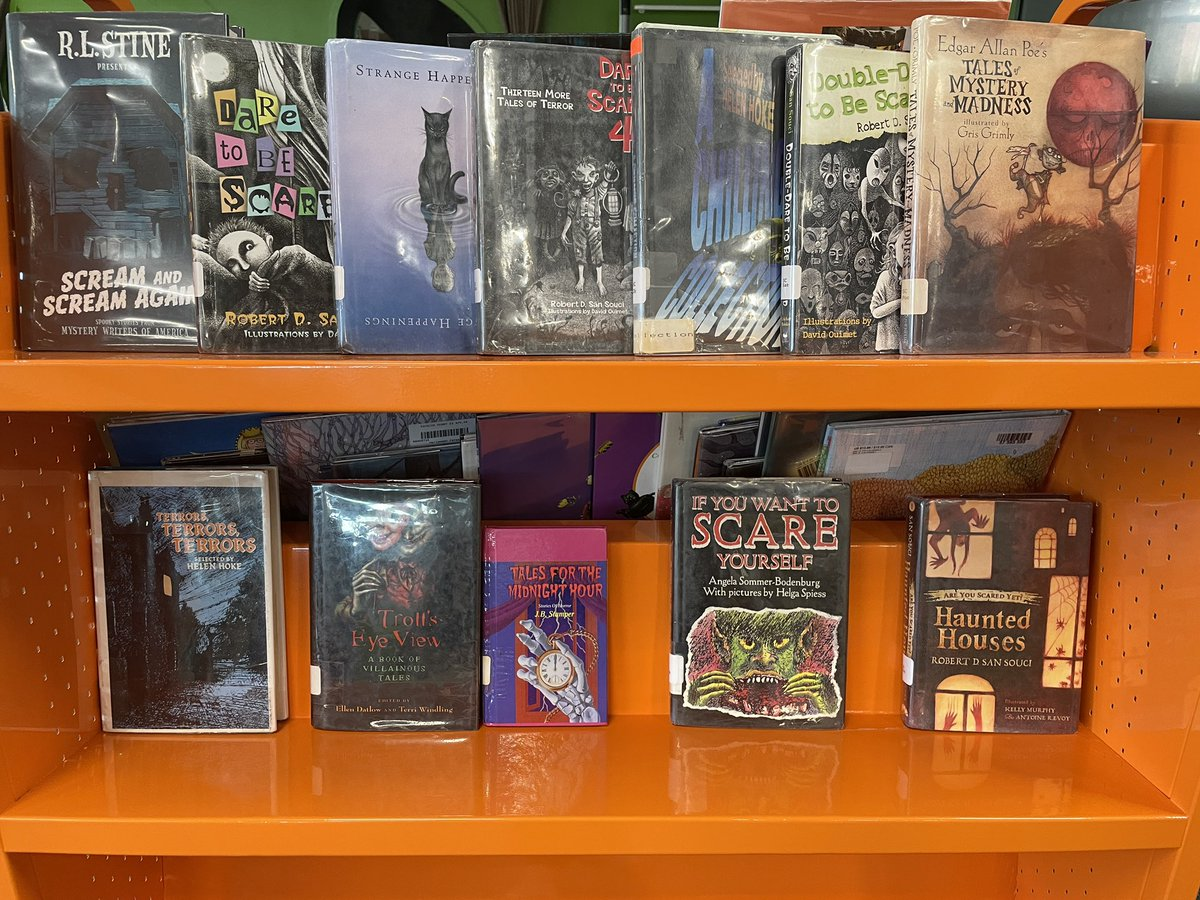Anyone in a creepy Halloween spirit yet? 👻 We've got just what you need! 📚  <a target='_blank' href='http://twitter.com/APSLibrarians'>@APSLibrarians</a> <a target='_blank' href='http://twitter.com/APS_FleetES'>@APS_FleetES</a> <a target='_blank' href='http://twitter.com/APSFleetPTA'>@APSFleetPTA</a> <a target='_blank' href='http://twitter.com/Principal_Fleet'>@Principal_Fleet</a> <a target='_blank' href='http://twitter.com/AP_FleetFalcons'>@AP_FleetFalcons</a> <a target='_blank' href='https://t.co/IOD1hEQtmd'>https://t.co/IOD1hEQtmd</a>