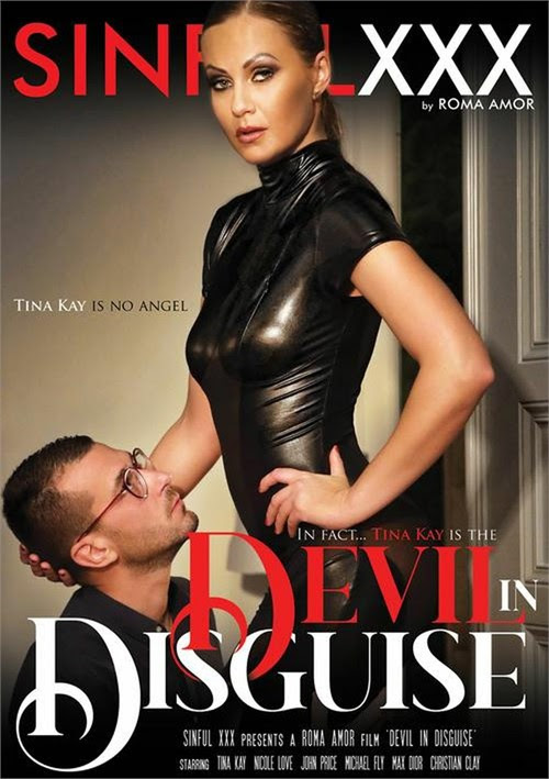 """.@TinaKayxxx is absolutely incredible in @SinfulXXXcom's """"Devil In Disguise!"""" If you're looking for something to watch this Friday, we highly recommend this film! adamevevod.com/3187384/devil-…"""