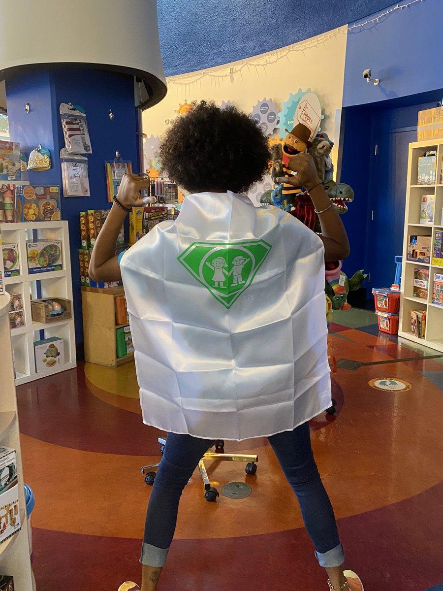 Get your capes out! It's #CapeDayATL!💚