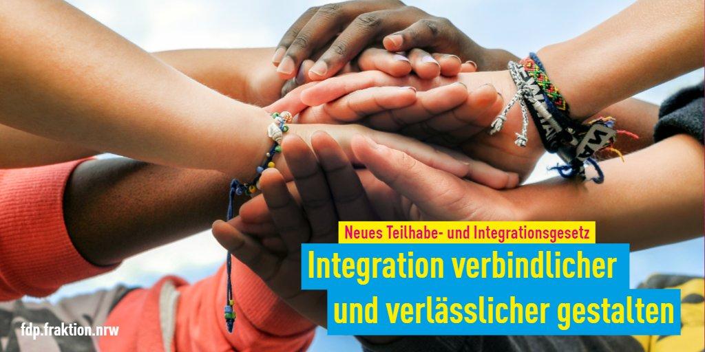 Die Reformierung des Teilhabe- und Integrationsgesetzes sorgt für mehr Teilhabe, mehr #Integration und mehr #Chancengerechtigkeit. Zusammen machen wir #NRW vielfältiger!