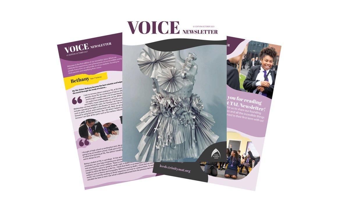 ⭐️ VOICE Newsletter! Welcome to the first edition of our #newsletter where we celebrate the experiences & achievements of our #foundingmembers 💜✨ Every term we will profile six of our students, focusing on their passions & amplifying their voices 🔗 https://t.co/yuR5tvohIc