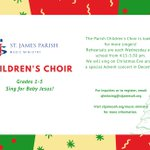 Image for the Tweet beginning: Calling all 1st-5th grade singers!