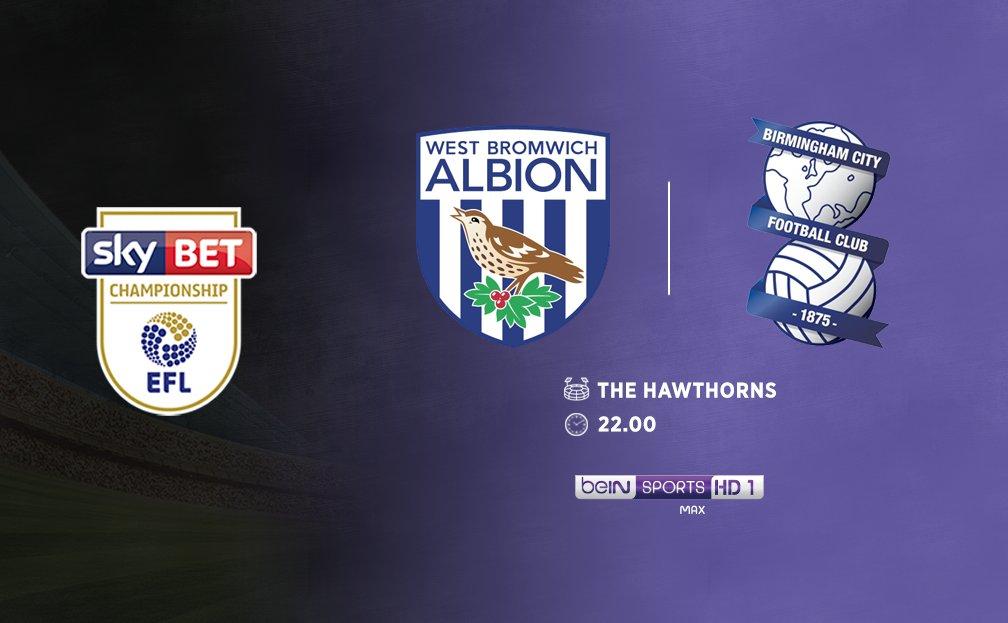 ⚽️ Championship'in 12.haftasında West Bromwich Albion, Birmingham City'i konuk ediyor.  📝 West Brom 11 maçta 22 puan toplayarak haftaya 2.sırada başlarken, Birmingham 12 puanla 17.sırada.  🎙️ 22.00'de beIN SPORTS MAX HD 1'de mikrofonda olacağım.