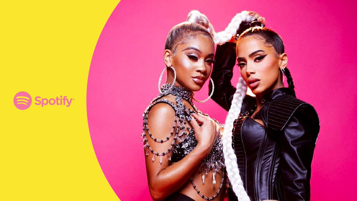 This week is just heating up 🔥 Check out some of our favorite new releases 👇 Let's go 💃 @Anitta teamed up with @Saweetie for Fakin' Love spotify.link/FakingLove
