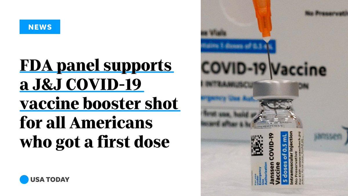 V ZDA Agencija za zdravila soglasno podprla uporabo poživitvene doze cepiva J&J za vse osebe nad 18 let.
