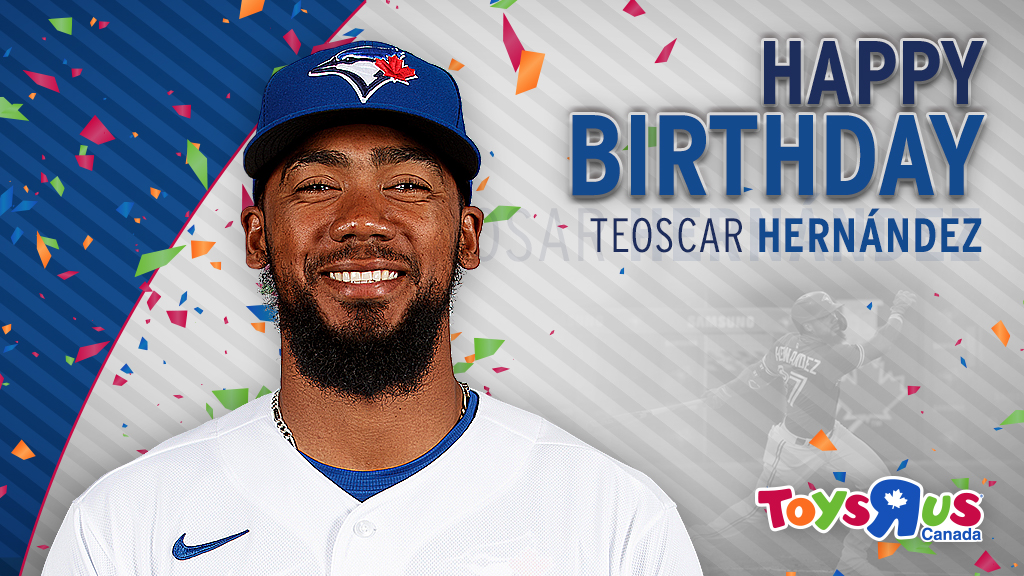 All smiles for our slugger 😃 Happy birthday, @TeoscarH 🥳