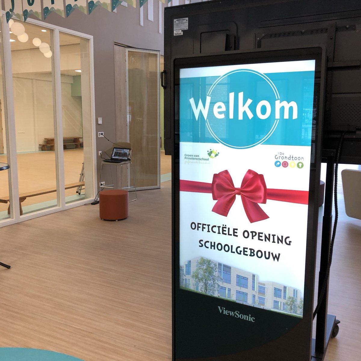 Image for the Tweet beginning: Het nieuwste #schoolgebouw van Bunschoten