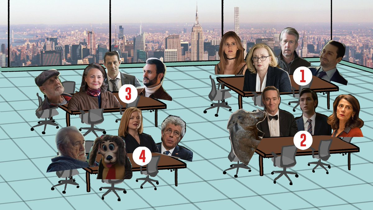 Which boardroom table y'all sitting at? @succession
